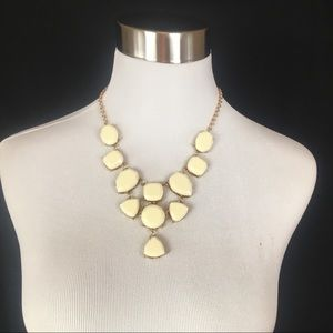 Anna & Ava Necklace, New With Tags, Color Cream